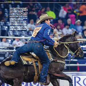 A Rising Star for Rodeo Horse Magazine