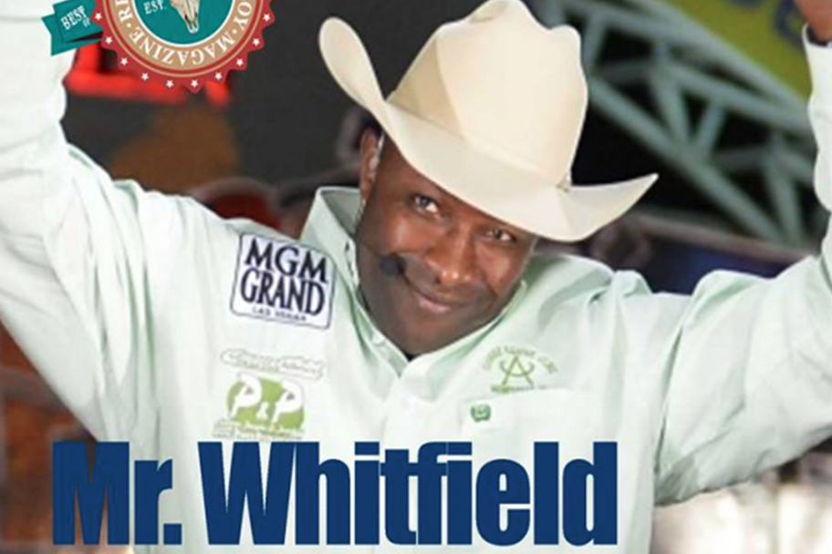 Fred Whitfield for Real American Cowboy Magazine by writer Mary McCashin
