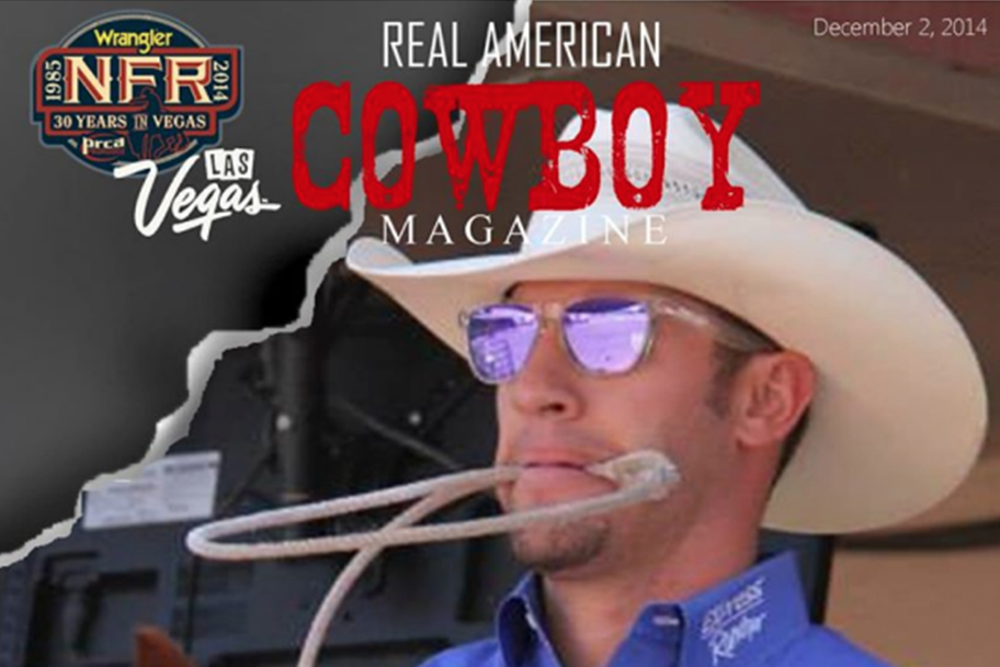 Hunter Herrin for Real American Cowboy Magazine by journalist Mary McCashin